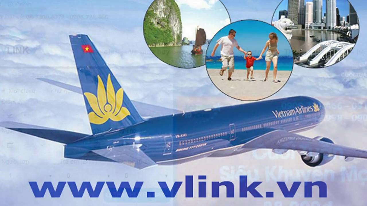 Giới thiệu Đại lý vé máy bay giá rẻ Vlink
