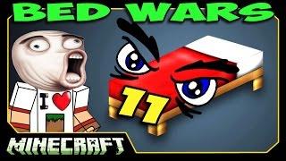 ч.11 Bed Wars Minecraft - Слишком много ВСЕГО!!!