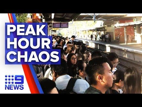 Sydney Commuters Hit With Train Delays | Nine News Australia