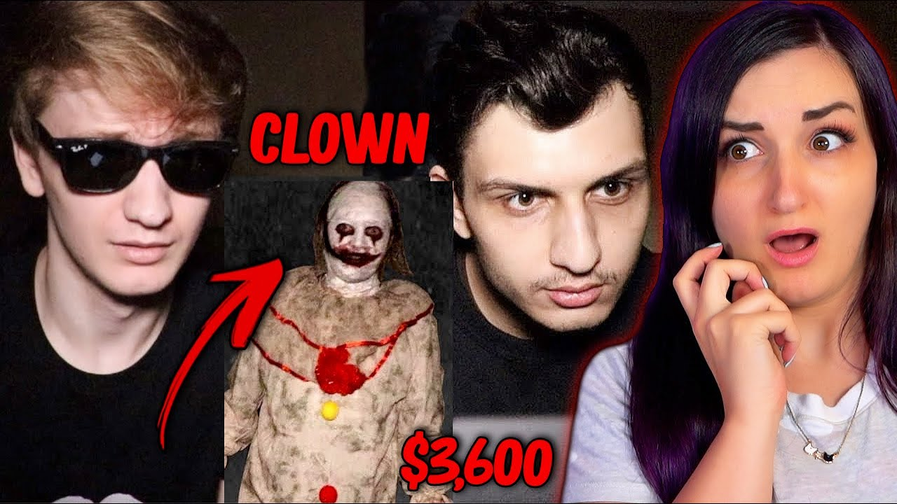 They Hired A CLOWN on a Dark Web?! WHY?!