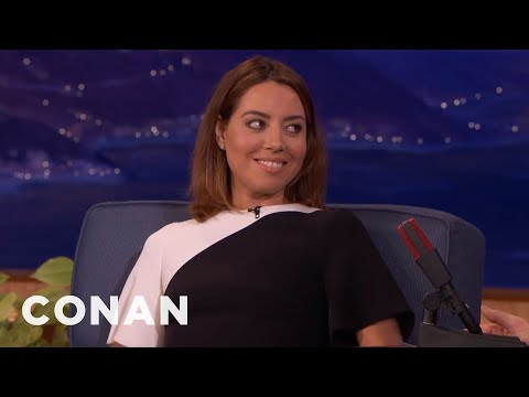 Aubrey Plaza's 'Legion' Role Was Meant For A Man  - CONAN on TBS
