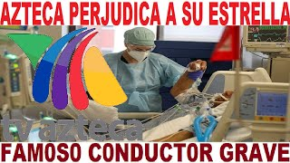 conductor TV AZTECA grave LUPITA JONES caca