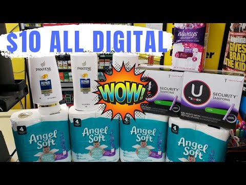 Dollar General $5/$25 Coupon Deals!  Digital Coupons
