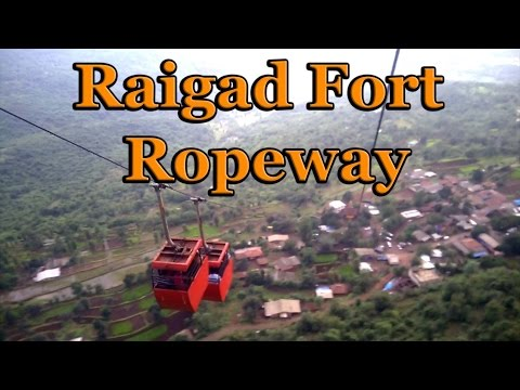Monsoon Special: Raigad Fort Ropeway Thrilling Ride
