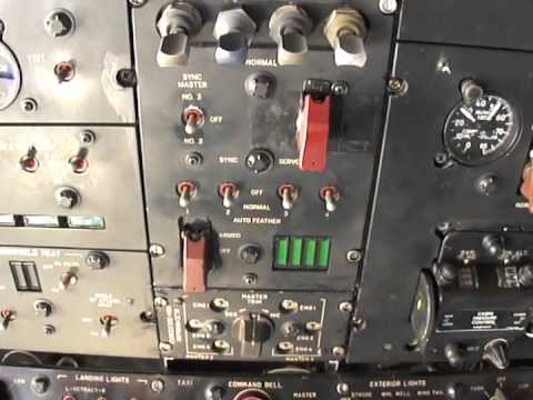 P-3 Orion Overhead Panel Power Sources
