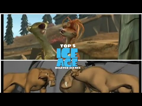 Download top 5 Ice Age deleted scenes