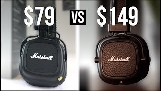 $79 Marshall Major 2 Bluetooth vs $149 Major 3 BT?