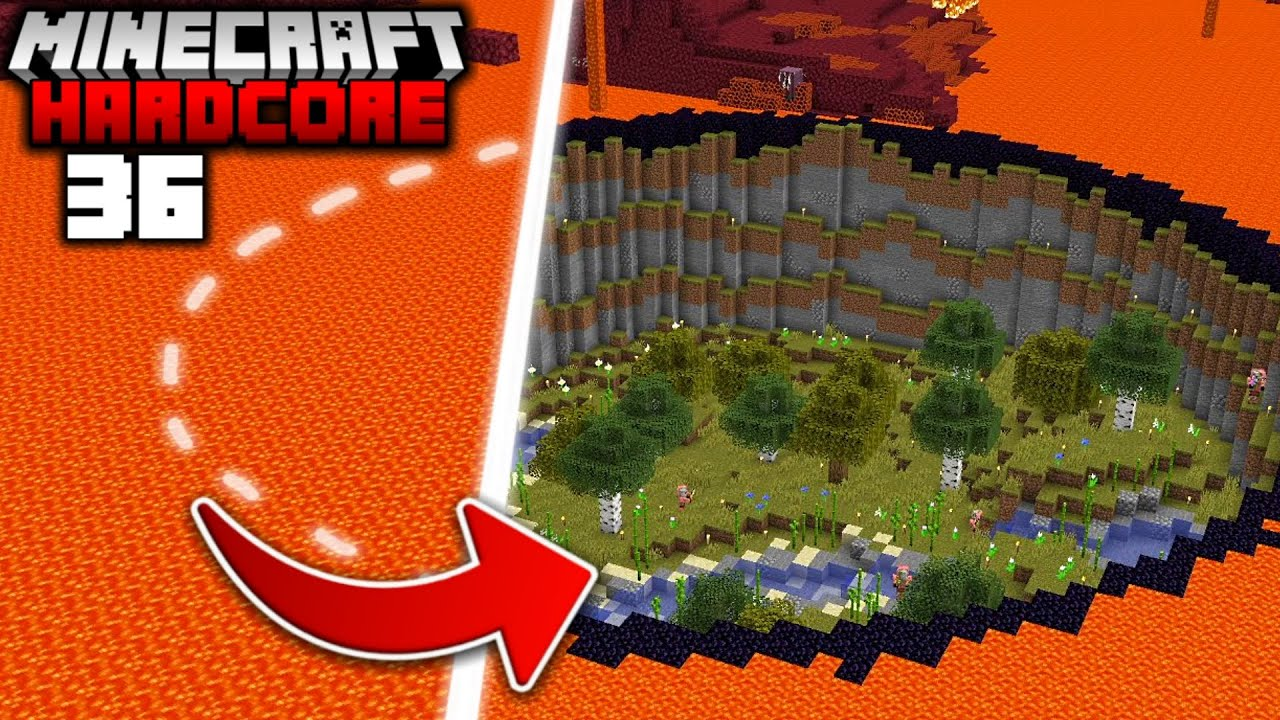Download I Transformed the NETHER into the OVERWORLD in Minecraft Hardcore (#36)