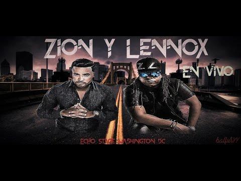 Zion & Lennox en Vivo Echo Stage, Washington DC 2016