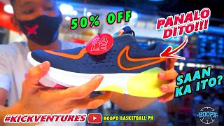 PANALO ANG SALE DITO SA OUTLET NA TO!! Basketball & Running Shoes 50% OFF