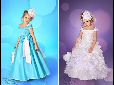 Фото платья для детей на выпускной