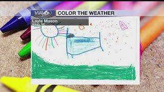 Color the Weather Thursday, November 15, 2018