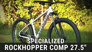 Slacker and more fun??? - Specialized Rockhopper Comp 27.5 Mountain Bike Review of Features & Weight