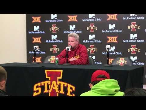 Dave Sprau - VIDEO: ISU Women's Basketball Coach Bill Fennelly