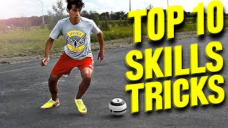 TOP 10 - Futsal Skills & Football Tricks - Tutorial(How to do some great street soccer & futsal skills! These tricks are also performed by Neymar, Ronaldinho & Ronaldo. Lerne einfache, aber effektive ..., 2016-05-12T18:00:01.000Z)