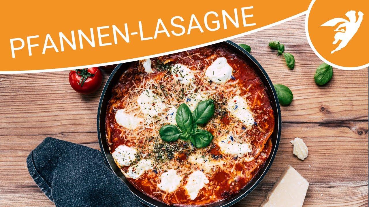 Schnelle Pfannen Lasagne   One Pan Lasagne   KOCHHELDEN.TV