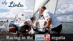 s/y Lintu in the Nautor's Swan 50th anniversary regatta