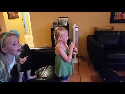 "Baby Lola Singing Karaoke ""Count on Me"""