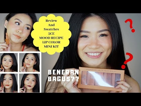 3ce-review-indonesia-|-review-3ce-lipstick-(bahasa-indonesia)