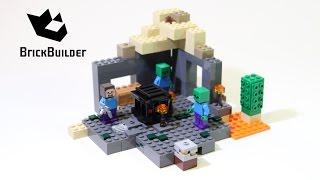 Lego Minecraft 21119 The Dungeon - Lego Speed Build