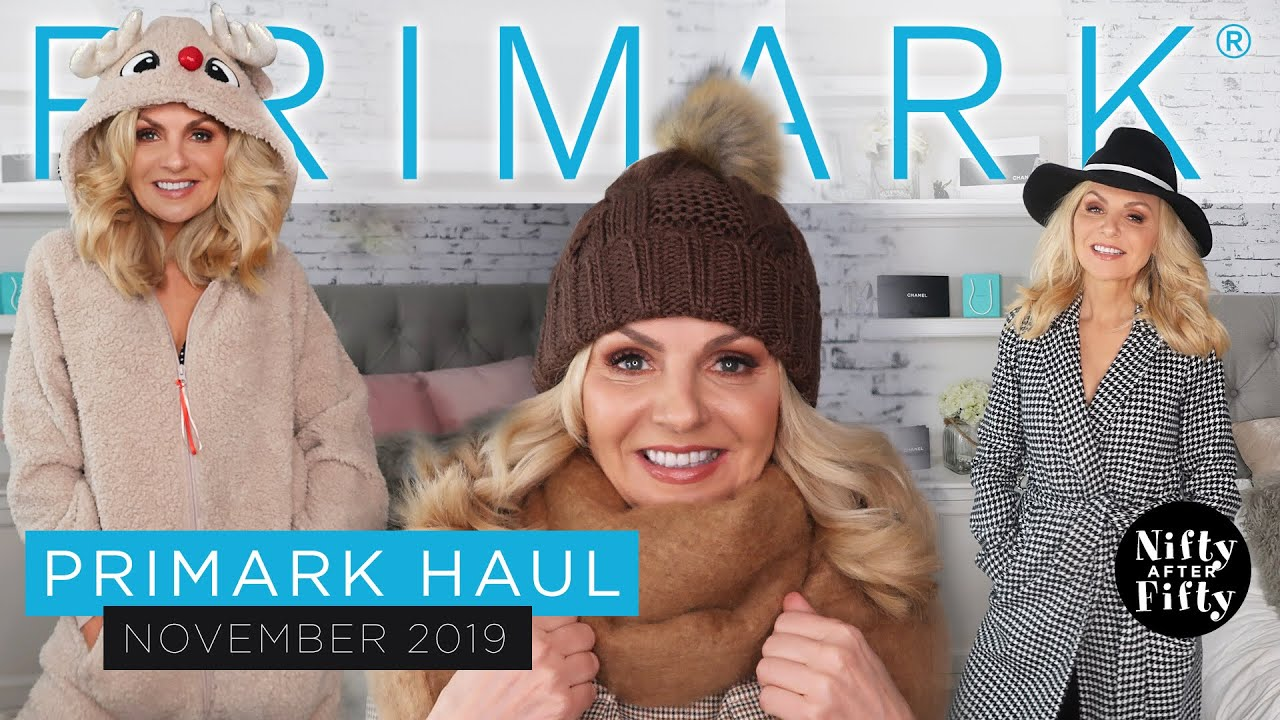 [VIDEO] - HUGE TRY ON PRIMARK HAUL NOVEMBER 2019/STYLING TIPS AUTUMN/WINTER OUTFIT IDEAS/fabulous50s 2