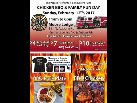 live at the Venice Fire Fighters' Benevolent Fund Chicken BBQ & Family Fun Day in Venice, FL.