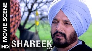 Jimmy Sheirgill gives a final warning to Mukul Dev | Shareek | Movie Scene