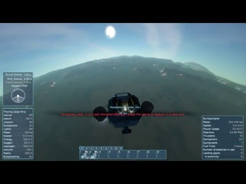 Space Engineers - How to leave a planet