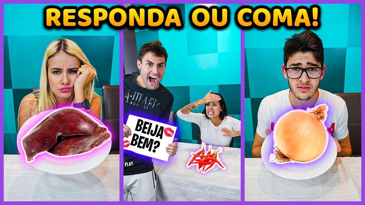 RESPONDE OU COME COM TODOS DA CASA!! ( MUITO POLÊMICO ) [ REZENDE EVIL ]