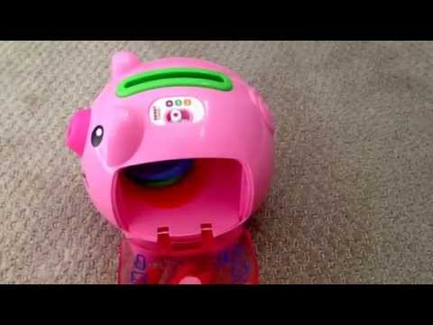 Fisher Price Laugh & Learn Piggy Bank Review
