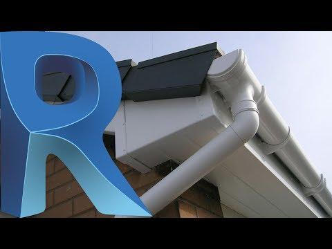 Revit Tutorial 3d Standing Seam Metal Roof In 6 Minutes