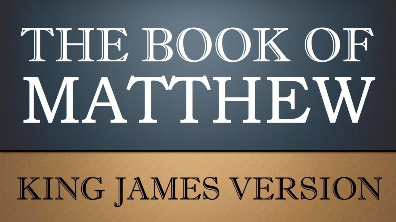 the gospel according to matthew pdf