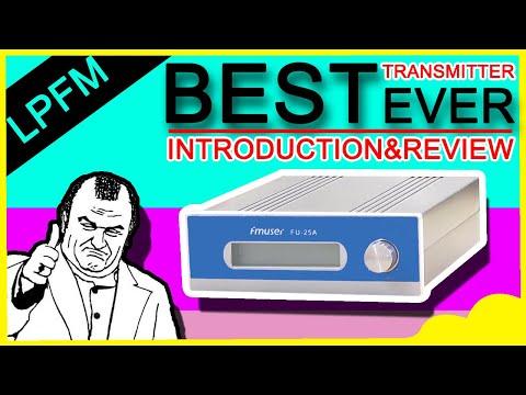 FMUSER 25watt Long Range FM Transmitter Set For FM Radio Station/Church Parking Lot/Drive-in Cinema