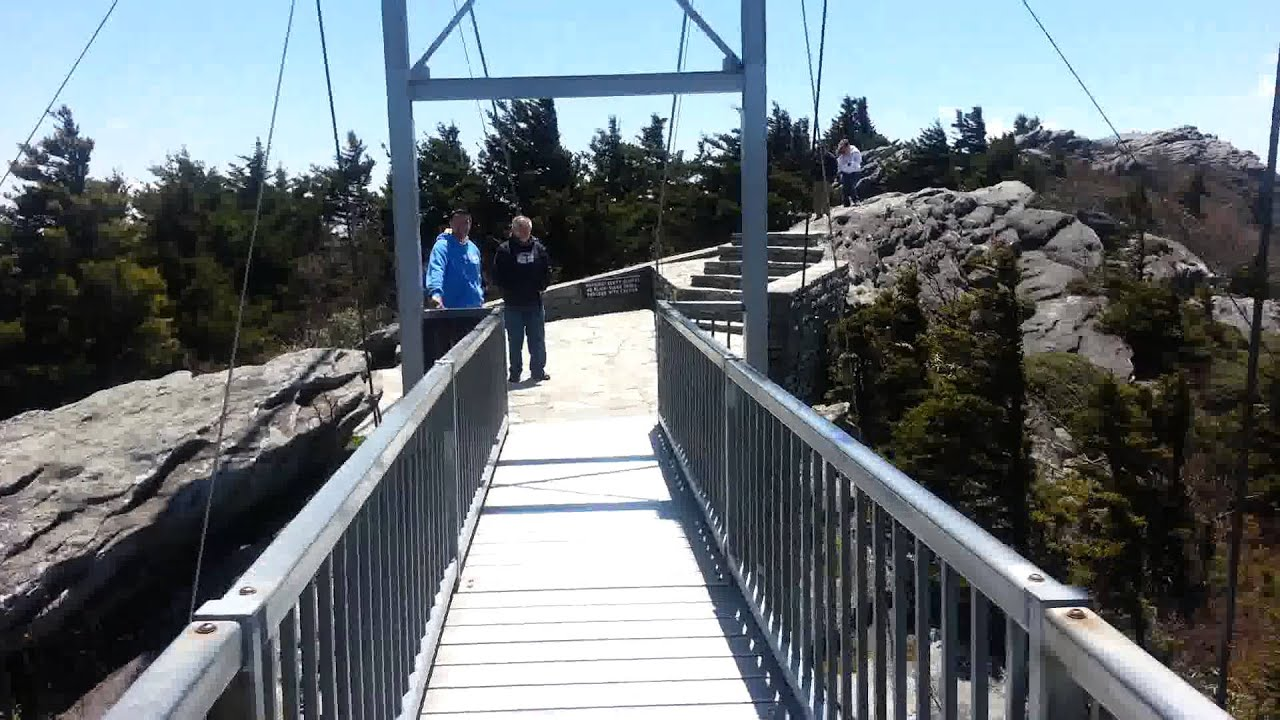swinging bridge The mile high