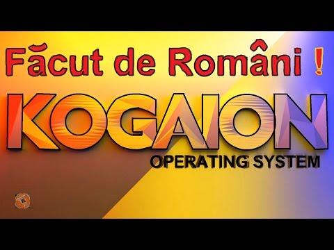 Sistem de operare facut de Romani !!! Kogaion
