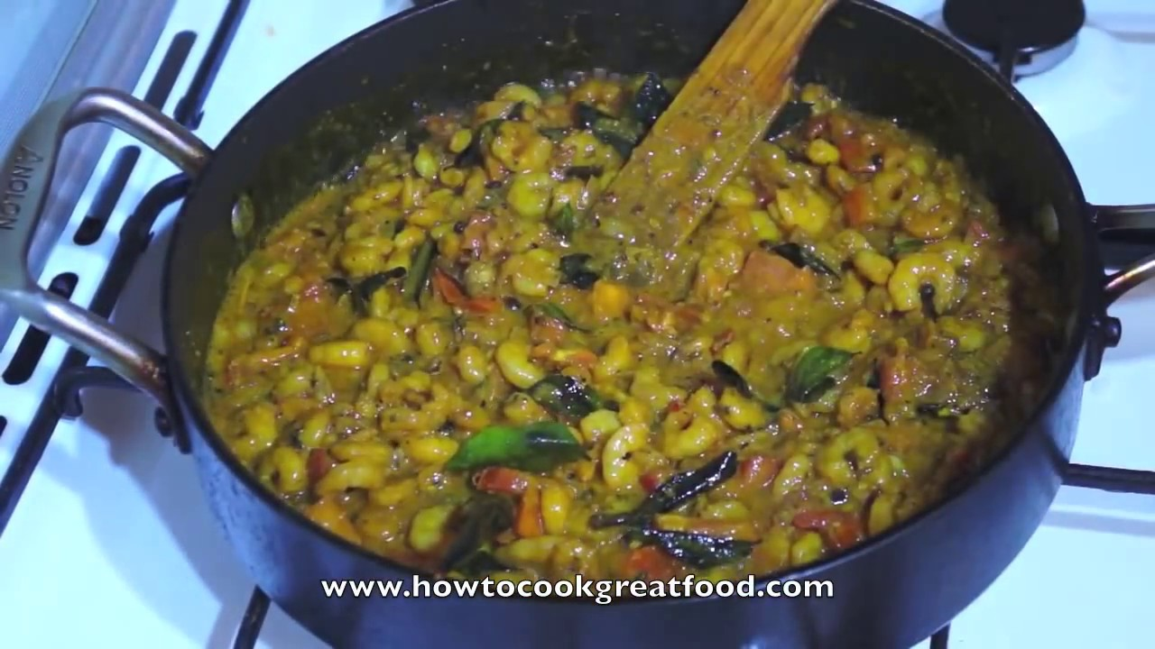 Shrimp curry recipe indian prawn masala hot n spicy youtube forumfinder Image collections