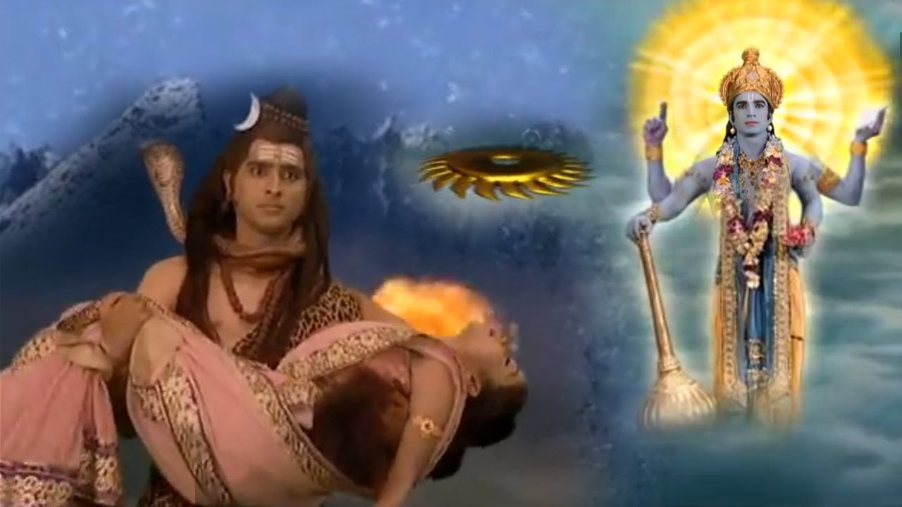 क्रोधित शिव पर विष्णु ने चलाया सुदर्शन फिर हुई रुद्राक्ष की उत्पत्ति - Hanuman Ki Leela