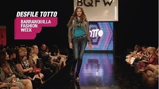 Desfile Totto - Barranquilla Fashion Week 2013