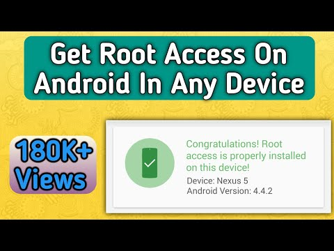 How To Root Any Android Version In 2020 With New Method | Latest Root Method  | ROOT SUCCESS 100%