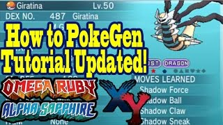 How To PokeGen In ORAS & XY Easily After Update! Full Homebrew 11.0 & PKHex Tutorial! [OLD]