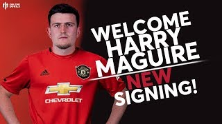 Official! Harry Maguire Signs For Man United!