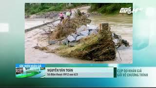 VTC14 | Cầu tràn ngập trong nước lũ, người dân vẫn liều lĩnh lưu thông