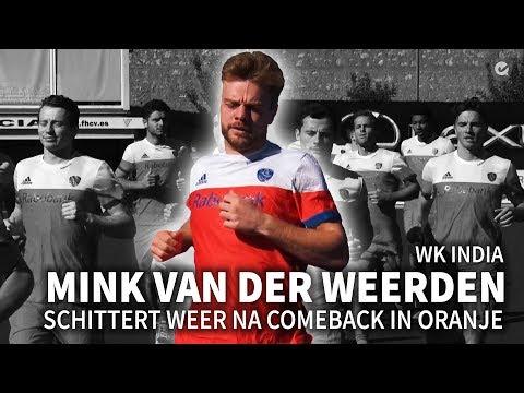 Mink van der Weerden schittert weer na comeback in Oranje
