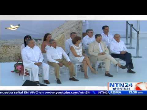 """""""¡Viva la paz, viva Colombia!"""": Ban Ki-moon celebra histórica firma de paz con las FARC"""