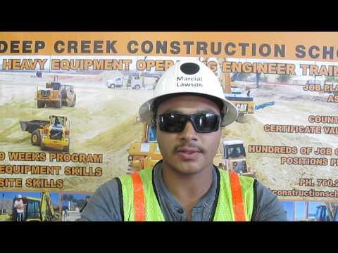 Heavy Equipment Operator Marcial Lawson Video Resume