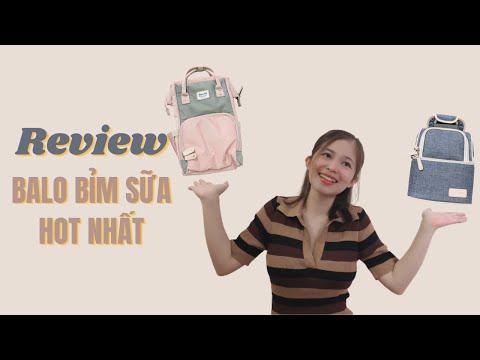 Balo Bỉm Sữa Hot Nhất Hiện Nay - Review