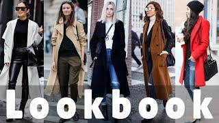 How To Oversized/Long Coat Style - Winter 2018 Fashion, Lookbook