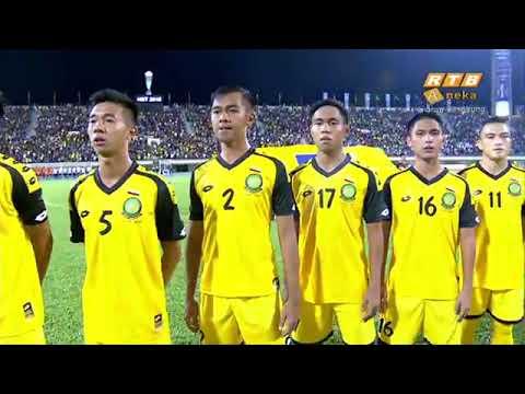 Brunei U 21 Vs Thailand U 21 (First Half) Hassanal Bolkiah Trophy 2018