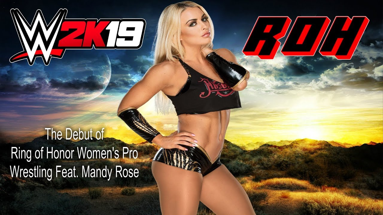 WWE 2k19: ROH Women's Pro Wrestling Match Card for 12/17/18 (New Stories &  New Attitude)