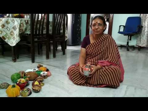 Handicrafts with coconut shell